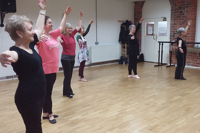 Ballet Beginners Improvers Daytime Class The Dance